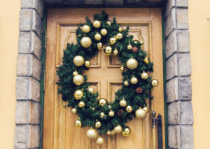 Welcoming Guests with Your Festive Front Door